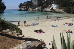 playa cala santanyi